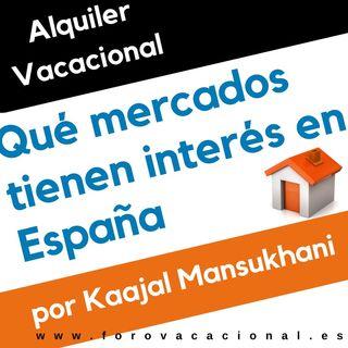 Mercados de alquiler para el sur de Europa con Kaajal Mansukhani en Foro vacacional