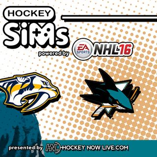 Predators vs Sharks: Game 2 (NHL 16 Hockey Sims)