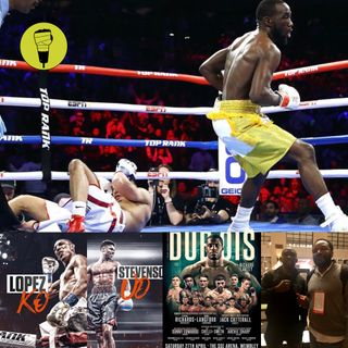 Crawford stops Khan in NYC & Dubois v Lartey preview!!!