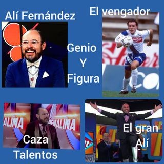 Entrevista Alí Fernández. Caza talento, ex futbolista, cronista deportivo y excelente ser humano
