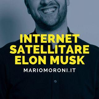 Starlink internet satellitare di Elon Musk arriva in Italia