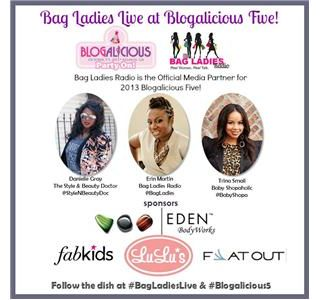 #BagLadiesLIVE at #Blogalicious5: Today's The Day!