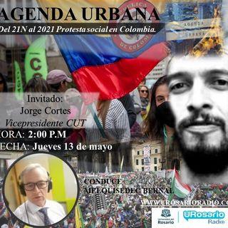 Dos caras de la misma moneda: la protesta Social del 21N 2019 al 2021