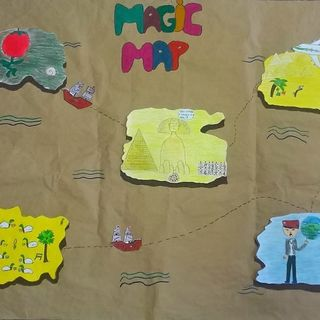 MAGIC MAP - ogni mappa ha i suoi tesori