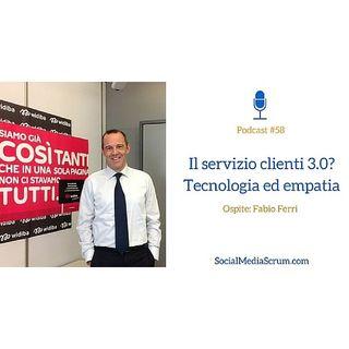 #58 Il servizio clienti in banca Widiba - intervista a Fabio Ferri