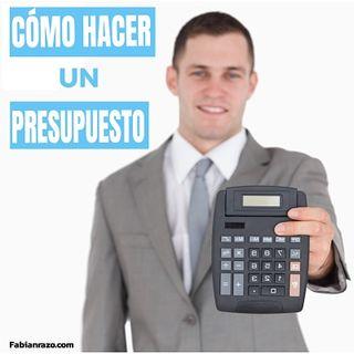 Como hacer un presupuesto personal │ Episodio 19 │ Liderazgo con Fabian Razo