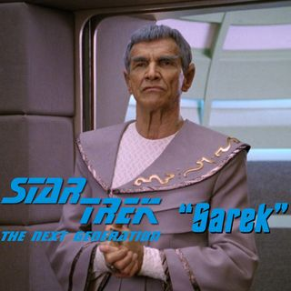 "Season 4, Episode 14 ""Sarek"" (TNG) with Anika and Liz of Antimatter Pod"