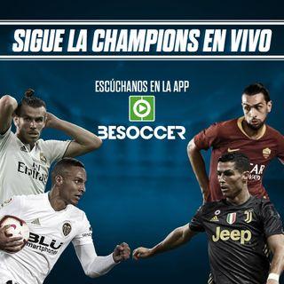 Revive el directo de la jornada de Champions del 19-09-18