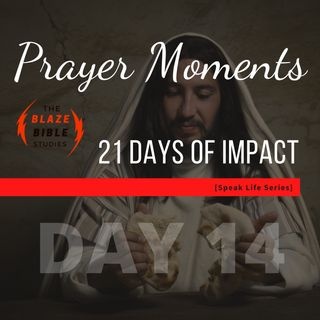 Prayer Moments [21 DAYS OF IMPACT] -DAY 14