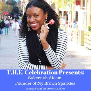 Sakeenah Aleem - Founder of My Brown Sparklez
