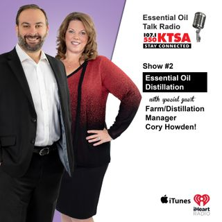 Essential Oil Distillation w/Cory Howden - Distillation Manager