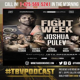 ☎️Anthony Joshua vs Kubrat Pulev🔥🚨 It's Fight Week❗ Are You Feeling The Hype❓