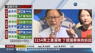 15:33 提選舉無效訴訟 丁守中連夜北院遞狀 ( 2018-11-25 )