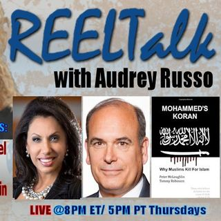 REELTalk: Brigitte Gabriel, author Peter McLoughlin in the UK and Dr. Steven Bucci of the Heritage FDN