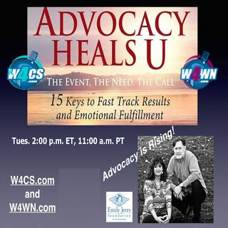 Advocacy Heals U: An Inside Job; Being Part of Your Own Healing