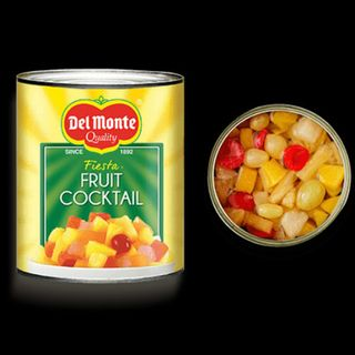 60 Seconds for Story Prompt Friday: Canned Fruit Cocktail and Life.