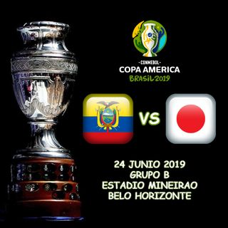 Ecuador vs Japón en VIVO