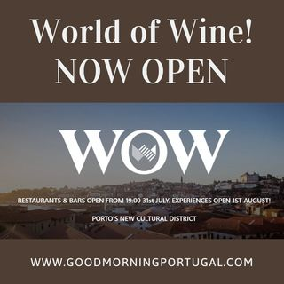 Portugal news, weather and 'World of Wine' in Porto?