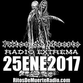 Ritos De Muerte Radio Show 25ENE2017