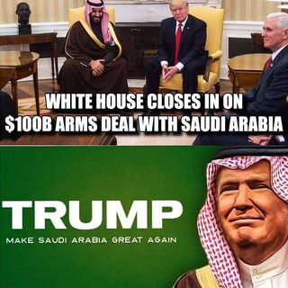 Making Saudi Arabia Great Again! +