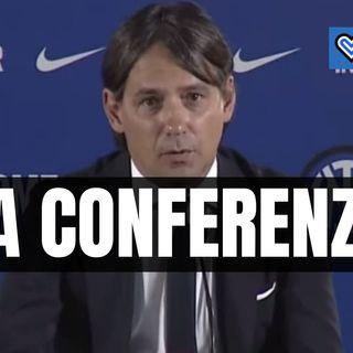 Inter, riascolta la conferenza stampa di Simone Inzaghi in un minuto