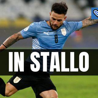 Nandez in Italia per l'Inter, ma il Cagliari cerca di prendere tempo