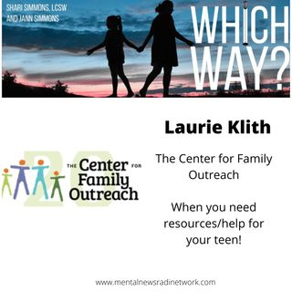 The Center for Family Outreach - When you need help for your family or teen!
