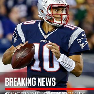 BREAKING NFL NEWS JIMMY G TRADED TO 49ers_CALVIN JOHNSON TO THE EAGLES_TY HILTON TO NYGS? ZEKE'S SUSPENSION NOW OFFICI
