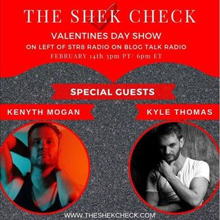 The Shek Check:  Valentines Episode, special Preview of Standing on our Soapbox