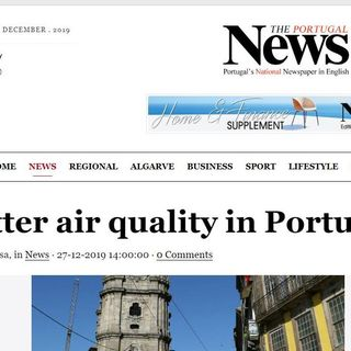 Good Morning Portugal! Weather & News - Air Quality & Environmental Stats