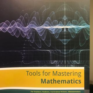 Tools For Mastering Mathematics Part 1