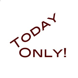 Today Only! A grateful shout out to my listeners