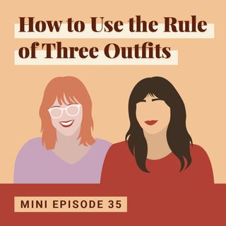 How to Use the Rule of Three Outfits