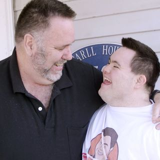 Dad To Dad 17 -  How John Cronin, who has Down Syndrome, and his dad Mark launched John's Crazy Socks.