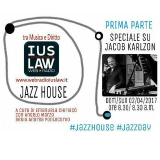Jazz House – I parte: Speciale Jacob Karlzon - 02 aprile 2017