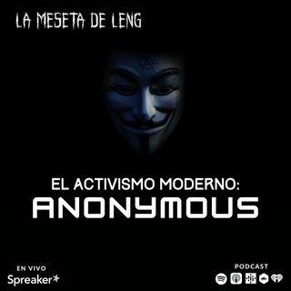 Activismo moderno: Anonymous pt. II