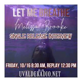 "Melissa Brooke ""Let Me Breathe"" Single Release"