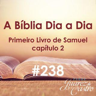 Curso Bíblico 238 - Primeiro Livro de Samuel Capítulo 2 - O Cântico de Ana, os filhos de Eli - Padre Juarez de Castro
