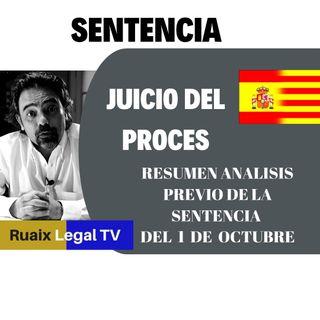 Resumen Sentencia del Proces | Sentencia del Juicio del 1-O | Sedición | Oriol Junqueras 13 años
