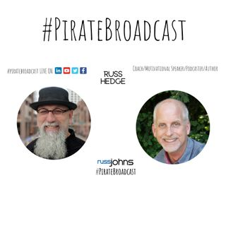 Catch Russ Hedge on the #PirateBroadcast