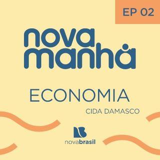 Economia com Cida Damasco - #2 - PIB Brasileiro e relação com o auxílio do governo
