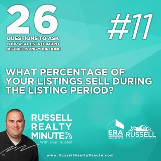 What percentage of your listings sell during the listing period?