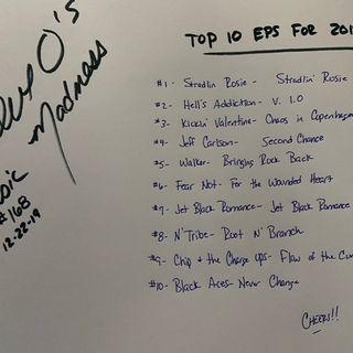 Steve O's Music Madness Top 10 EP's 122219