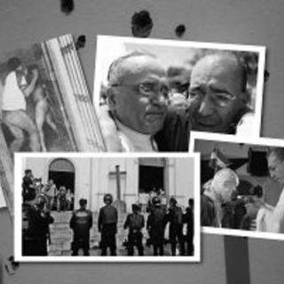 Sacerdotes católicos en medio del fuego cruzado