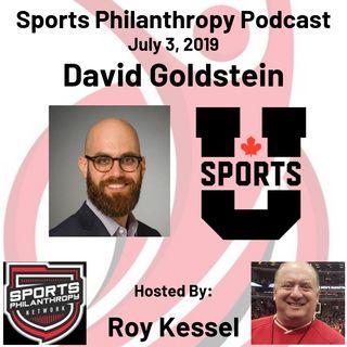 David Goldstein, U. Sports (Canada)