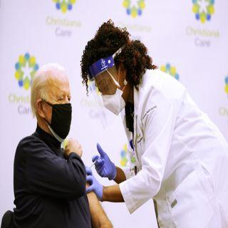 News: President-elect Joe Biden Receives COVID-19 Vaccine