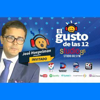 El Gusto de las 12- Episodio 42 Agosto 27-2019- Jose Hoelpam