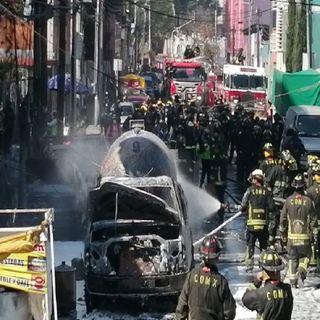 Explosión de pipa deja cientos de personas desalojadas y varios heridos en mercado Jamaica