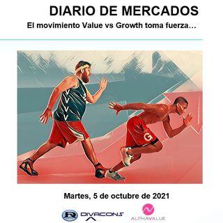 DIARIO DE MERCADOS Martes 5 Oct
