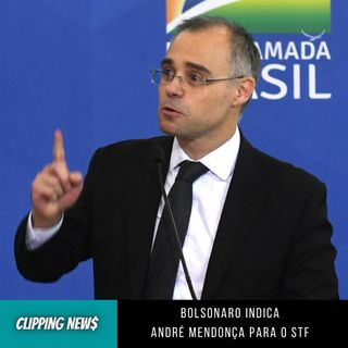 Bolsonaro indica André Mendonça para o STF